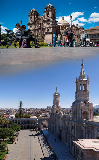 Cusco – Arequipa 7Days / 6Nights
