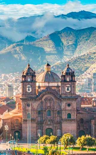 Meio Dia. City Tour em Cusco